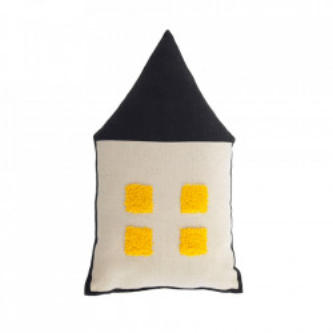 Perna decorativa multicolora din bumbac 20x35 cm Nisi Kave Home
