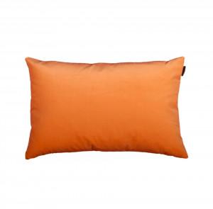 Perna decorativa portocalie din catifea si poliester 40x60 cm Trina Orange Pols Potten
