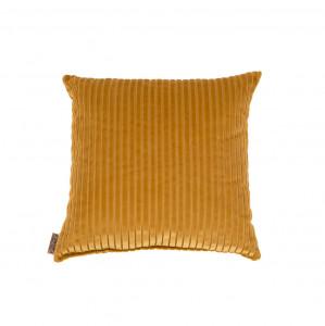 Perna din bumbac galben 45x45 cm Dubai Dutchbone