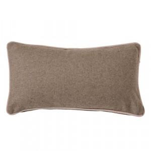 Perna din lana maro 60x30 cm Beige Bloomingville