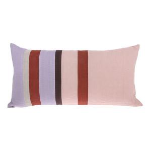Perna dreptunghiulara multicolora din bumbac si in 35x70 cm Striped Multicolor HK Living
