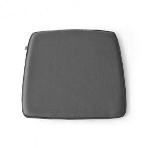 Perna sezut pentru exterior dreptunghiulara gri inchis din lana 39x42 cm String WM Menu