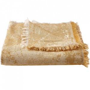 Pled maro chihlimbar din textil 140x190 cm Shore Bolia