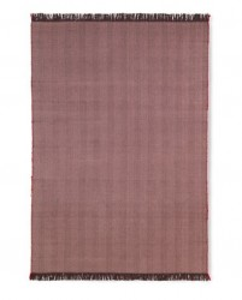 Pled mov vanata din lana si bumbac 120x180 cm Herringbone Ferm Living