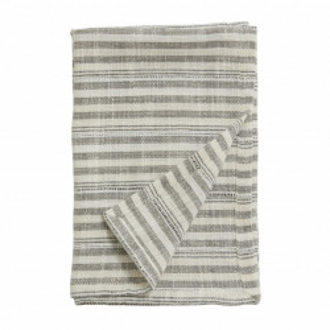 Prosop bucatarie negru/alb antic din bumbac 50x70 cm Gemma Nordal