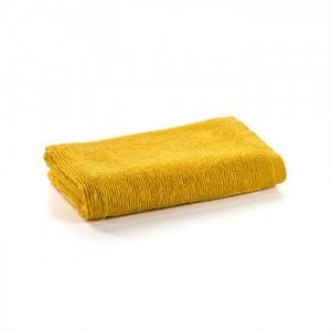 Prosop galben din bumbac 70x140 cm Miekki La Forma