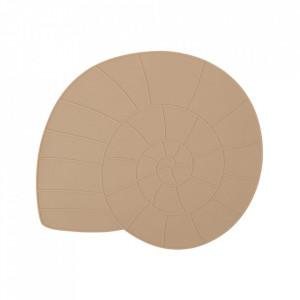 Protectie masa maro caramel din silicon 35x40 cm Nautilus Oyoy