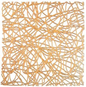 Protectie pentru chiuveta 30.5x30.5 cm Cross Orange Wenko