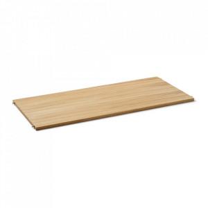 Raft maro deschis/crem din lemn 90 cm Punctual Ferm Living