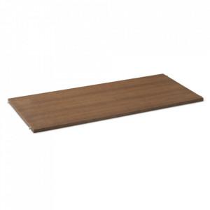 Raft maro inchis/gri din lemn 90 cm Punctual Ferm Living