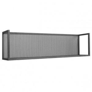 Raft negru din metal 90 cm Motif LABEL51