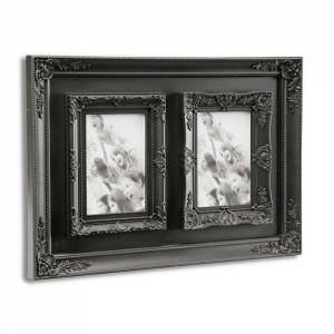 Rama foto neagra din polipropilena pentru 2 fotografii 30x42 cm Lauren Versa Home