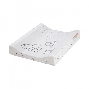 Saltea pentru masa de infasat din bumbac 50x65 cm Dreamy Dots Done by Deer