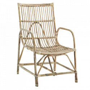 Scaun lounge maro din bambus Execta Madam Stoltz