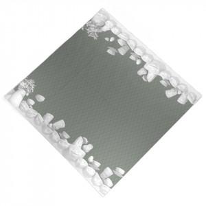 Set 16 servetele gri 33x33 cm Full Bloom Festoon Tassen