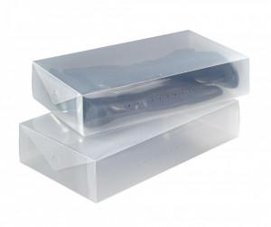 Set 2 cutii pentru depozitarea cizmelor 52x30x11 cm Wenko