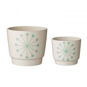 Set 2 ghivece ceramica Dolomite Bloomingville