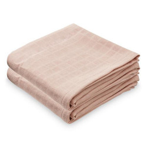 Set 2 museline roz din bumbac Lara Cam Cam