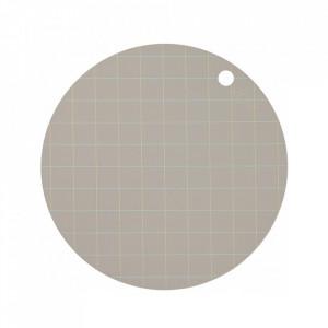 Set 2 protectii masa rotunde din silicon 39 cm Hokei Clay Oyoy