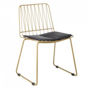 Set 2 scaune aurii din metal Hippy Kids Depot