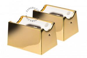 Set 2 suporturi pentru banda LED Zandra Gold Zangra