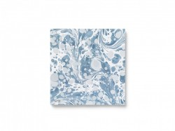 Set 20 servetele albastre 16,5x16,5 cm Marbling Dusty Blue Ferm Living