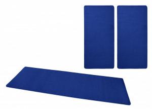 Set 3 covoare albastre Bed-Border Fancy Uni Hanse Home