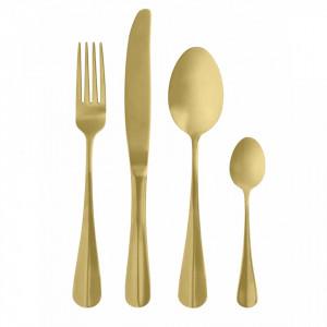Set 4 tacamuri aurii din inox Gold Nordal