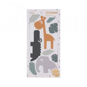 Set stickere pentru perete multicolore din PVC Tiny Tropics Done by Deer