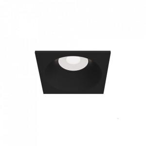 Spot negru din aluminiu Zoom Square Maytoni