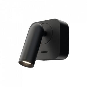 Spot negru din metal cu LED Mirax Maytoni