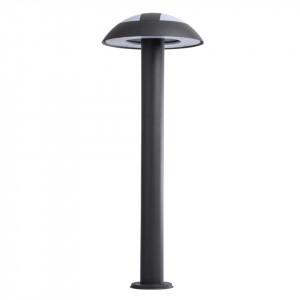 Stalp de iluminat gri carbune/alb din metal si plastic cu LED pentru exterior 70 cm Mercury MW Glasberg