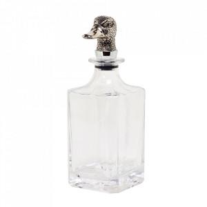 Sticla cu dop transparenta/argintie 900 ml Duck Edzard
