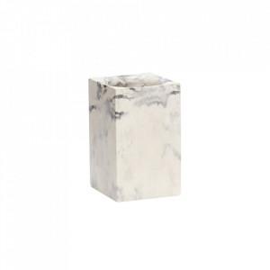 Suport alb/gri din ciment pentru pixuri Concrete Storage Hubsch