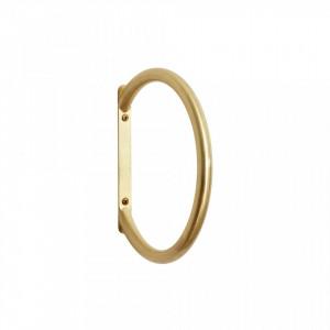 Suport auriu pentru prosoape 21 cm din alama Gold Hubsch