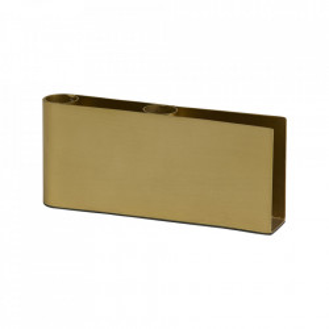 Suport lumanari auriu din fier 7 cm Gili Nordal