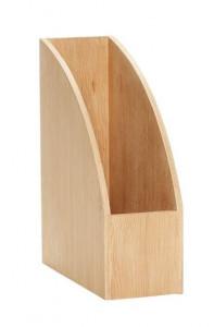 Suport maro din lemn pentru reviste Edwarda Hubsch