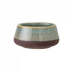Suport multicolor din ceramica pentru lumanare 4 cm Oha Bloomingville