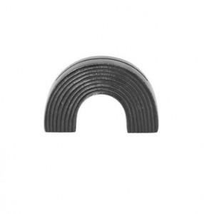 Suport negru pentru carduri din alama Arch Black Brass Ferm Living