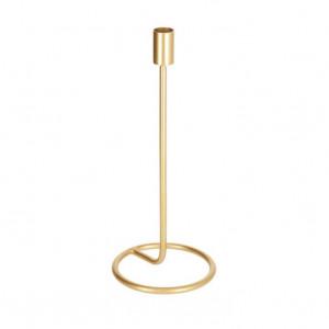 Suport pentru lumanare auriu din fier 30 cm Babirye Kave Home