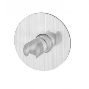 Suport pentru periuta dinti argintie din polietilena Osimo Wenko