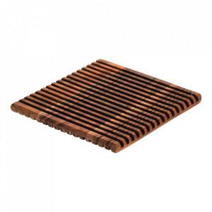 Suport pentru vase fierbinti din lemn de salcam 20x20 cm Melia Kave Home