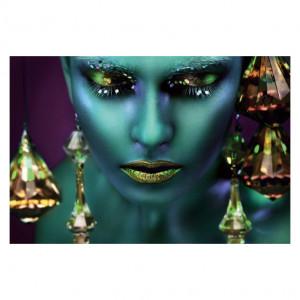 Tablou multicolor din sticla 80x120 cm Avatar Signal Meble