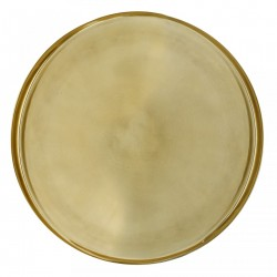 Tava aurie rotunda 50 cm Gold Bloomingville