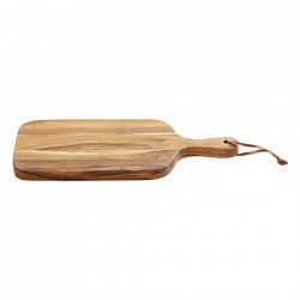 Tocator dreptunghiular maro din lemn 15x38 cm Alle Nordal