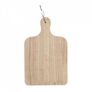Tocator dreptunghiular maro din lemn 20x31,5 cm Otte Bloomingville