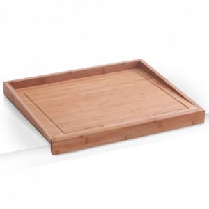 Tocator dreptunghiular maro din lemn 40x50 cm Liv Zeller