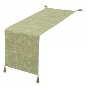 Traversa de masa verde din poliester 50x150 cm Loving Unimasa