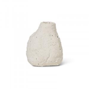 Vaza alb antic din ceramica 8 cm Vulca Avi Ferm Living