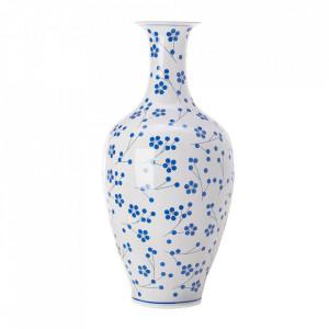 Vaza alba/albastra din portelan 90 cm Japanese Pols Potten